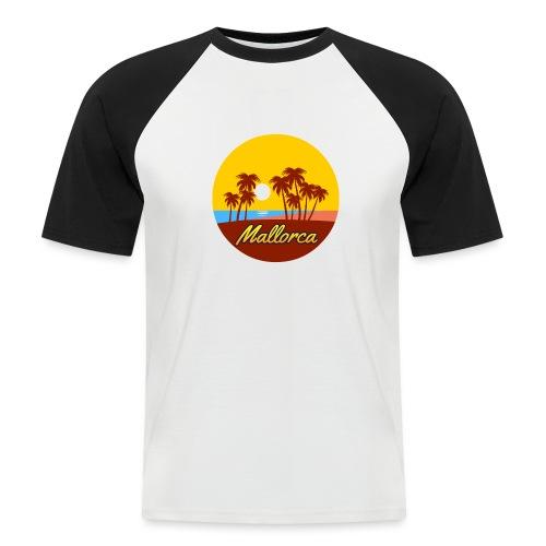 Mallorca - Als Geschenk oder Geschenkidee - Männer Baseball-T-Shirt