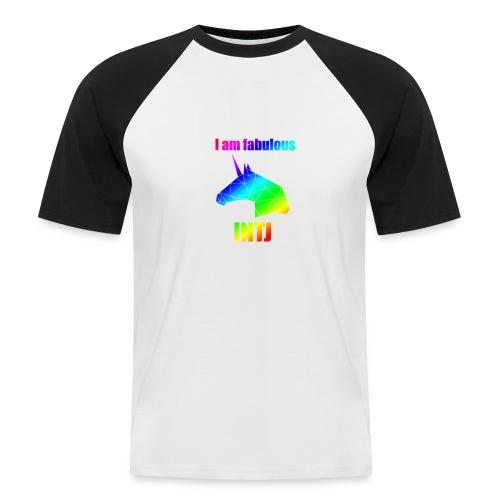INTJ - Koszulka bejsbolowa męska