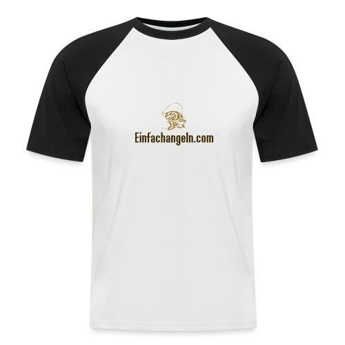 Einfachangeln Teamshirt - Männer Baseball-T-Shirt
