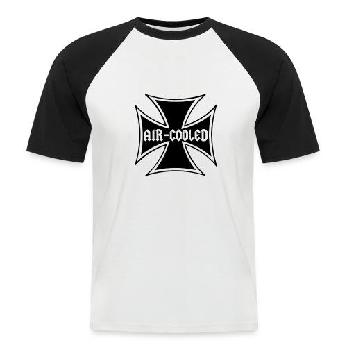croix maltaise - T-shirt baseball manches courtes Homme