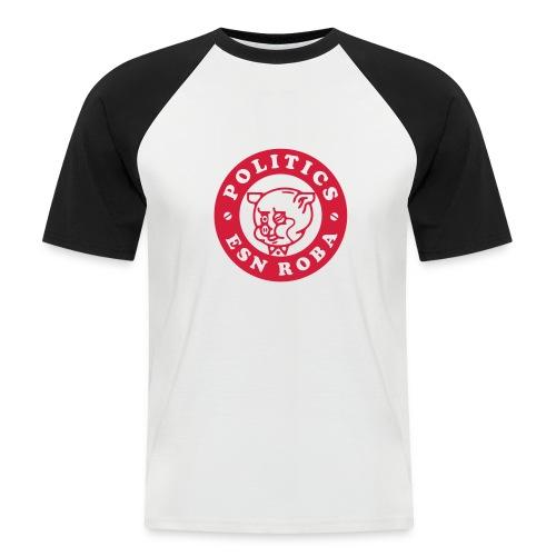 Pig PER. - Camiseta béisbol manga corta hombre
