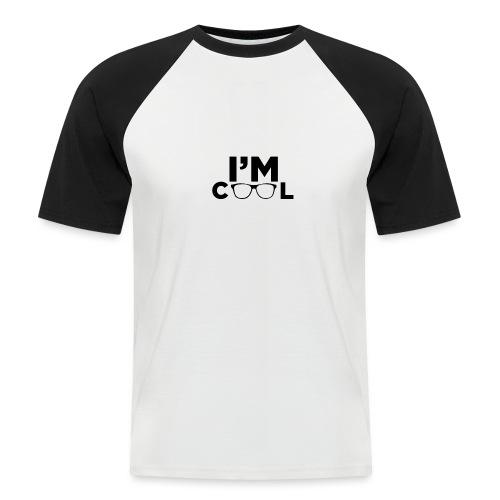 I'm Cool - Men's Baseball T-Shirt