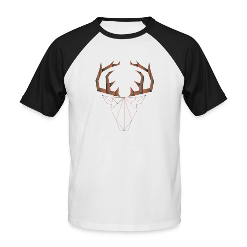 LOW ANIMALS POLY - T-shirt baseball manches courtes Homme