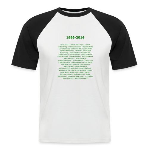 tekening4 - Mannen baseballshirt korte mouw