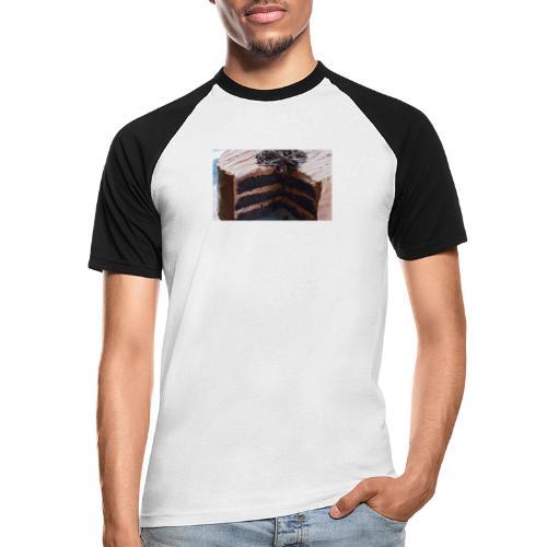 kagen - Kortærmet herre-baseballshirt