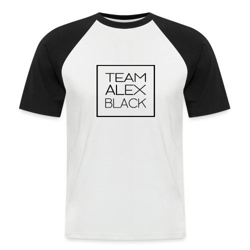 Alex + texte - T-shirt baseball manches courtes Homme