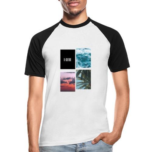 OCEAN VIBES - Camiseta béisbol manga corta hombre
