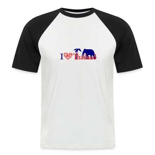 I love Thailand - Men's Baseball T-Shirt
