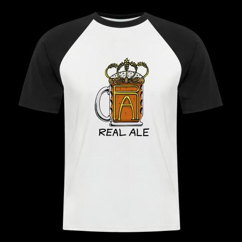 Real Ale - Men's Baseball T-Shirt
