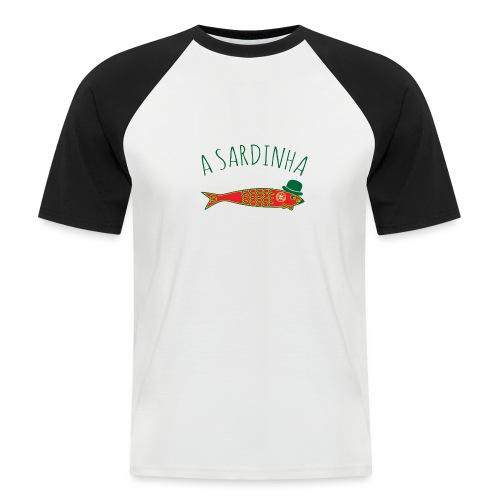 A Sardinha - Bandeira - T-shirt baseball manches courtes Homme
