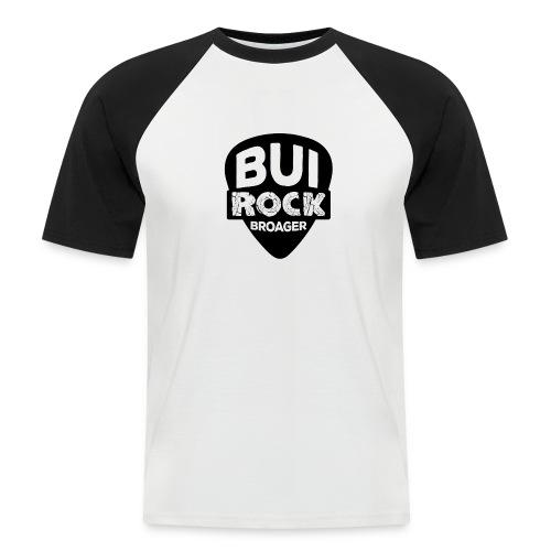 BUI ROCK - Kortærmet herre-baseballshirt