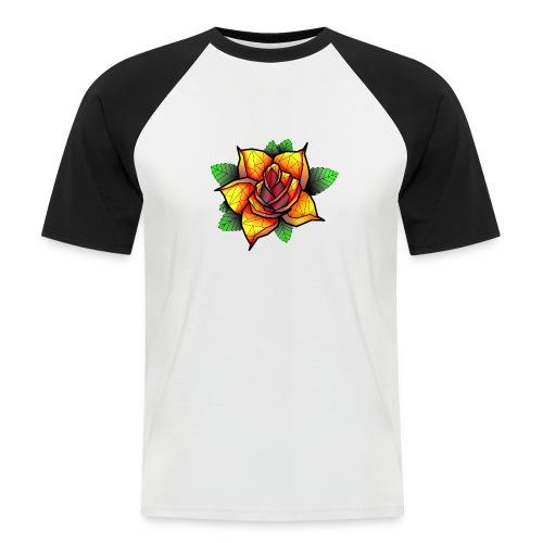 rose - T-shirt baseball manches courtes Homme