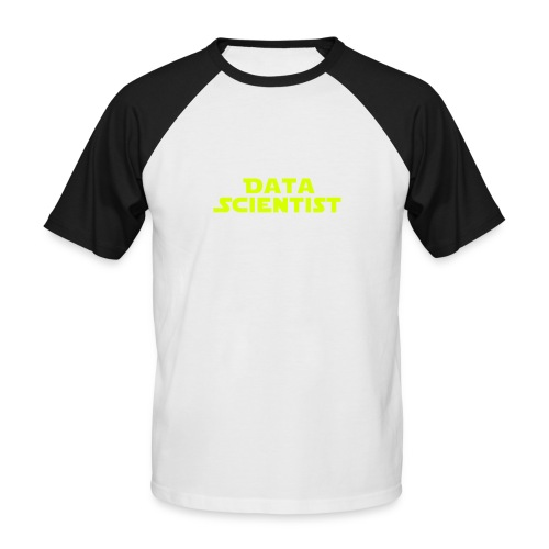 Data Scientist - Männer Baseball-T-Shirt