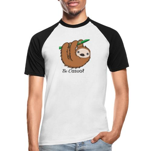 Be-Casual - Männer Baseball-T-Shirt