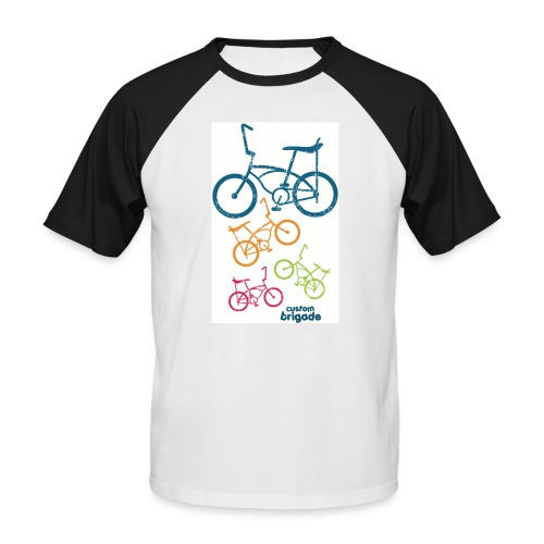 teenbike - T-shirt baseball manches courtes Homme
