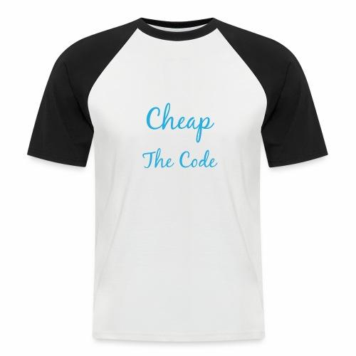 Talk is Cheap - Männer Baseball-T-Shirt
