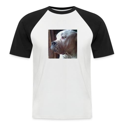 Mirada Perritus - Camiseta béisbol manga corta hombre