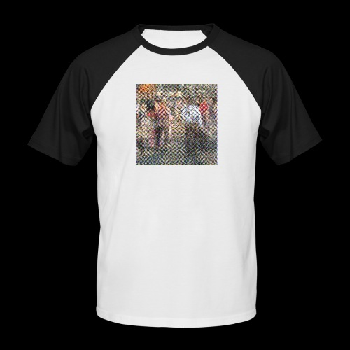 NewYork_GroundZero.jpg - Männer Baseball-T-Shirt