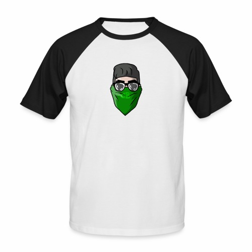 GBz bandana logo - Men's Baseball T-Shirt