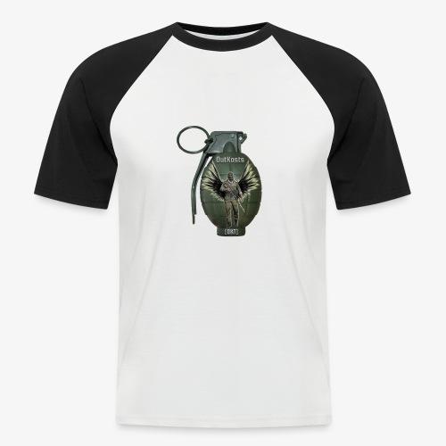 grenadearma3 png - Men's Baseball T-Shirt