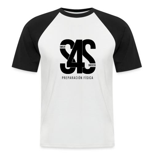 Logo Iniciales Sweat4Success - Camiseta béisbol manga corta hombre
