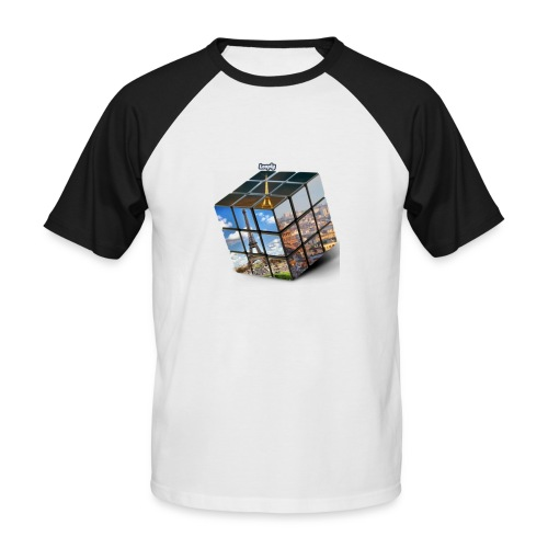 Tour eiffel - T-shirt baseball manches courtes Homme
