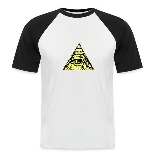 Illuminati - Kortärmad basebolltröja herr