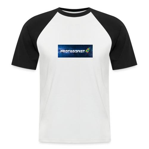 Protagonist by Schreiben-im-Flow.de - Männer Baseball-T-Shirt