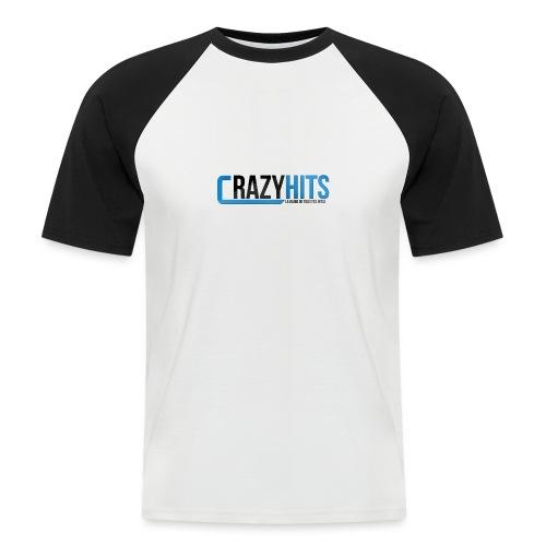 CrazyHIT - T-shirt baseball manches courtes Homme