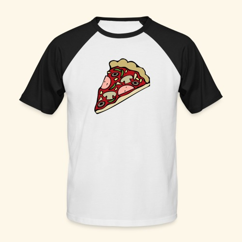 Pizza - T-shirt baseball manches courtes Homme