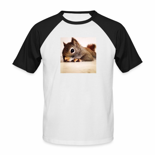 écureuil So Cute - T-shirt baseball manches courtes Homme