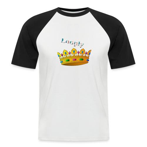 Monsieur roi - T-shirt baseball manches courtes Homme