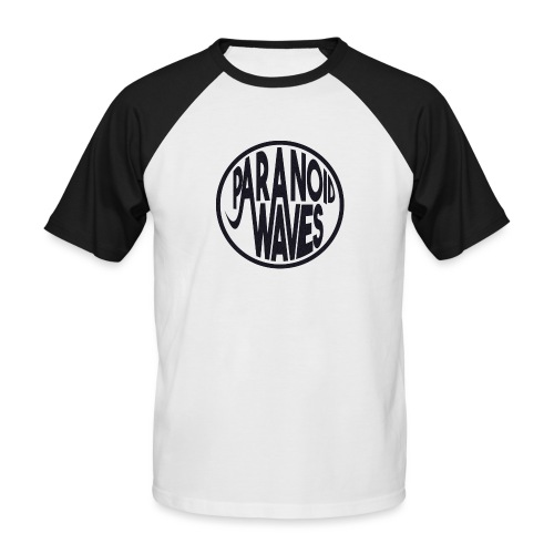 Paranoid Waves - Black - T-shirt baseball manches courtes Homme