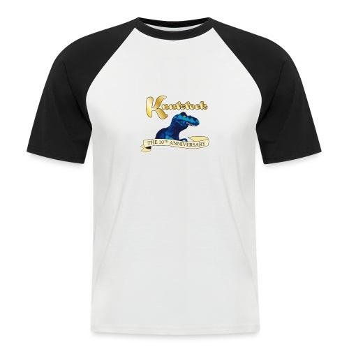 KnutstockAnniversaryBanner Thyranathaurus - Männer Baseball-T-Shirt
