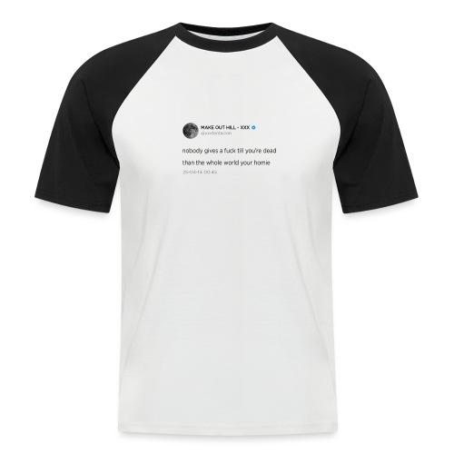 XXXTENTACION TWEET - Mannen baseballshirt korte mouw