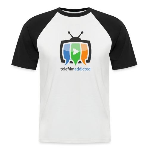 Telefilm Addicted Logo - Maglia da baseball a manica corta da uomo