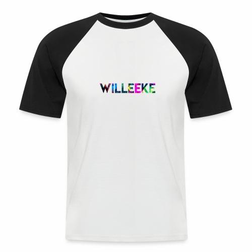willeeke graffiti whitbar - Kortärmad basebolltröja herr
