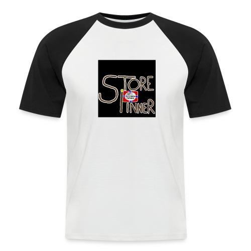 Store Pinner / Anti-shit-content-patrulje ;) - Kortermet baseball skjorte for menn