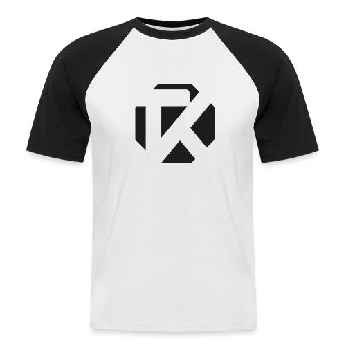 Logo TK Noir - T-shirt baseball manches courtes Homme