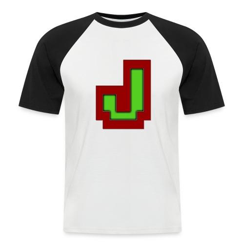 Stilrent_J - Kortærmet herre-baseballshirt