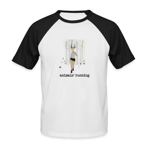 Antilope running - T-shirt baseball manches courtes Homme
