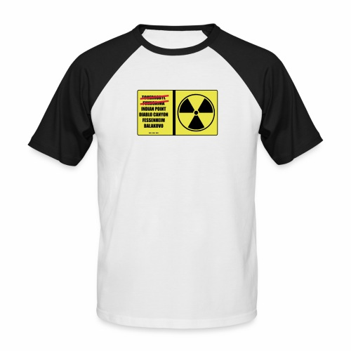 nucleaire - T-shirt baseball manches courtes Homme