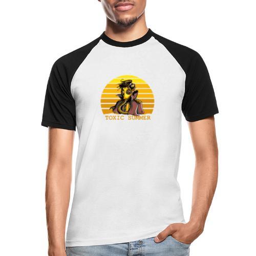 Toxic Summer - Camiseta béisbol manga corta hombre