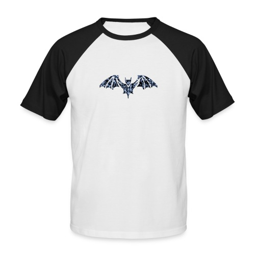 Galaxy BAT - Men's Baseball T-Shirt