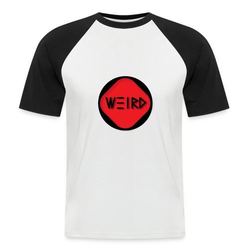 WeirdCylinder Logo - Men's Baseball T-Shirt