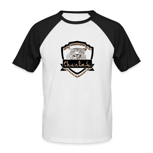 Cheetah Shield - Men's Baseball T-Shirt