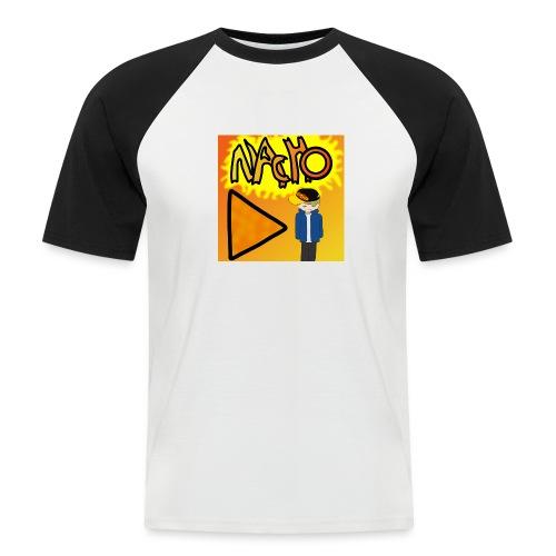 Nacho Title with Little guy - Men's Baseball T-Shirt