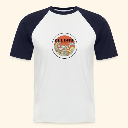 zeebonkwaves - Mannen baseballshirt korte mouw