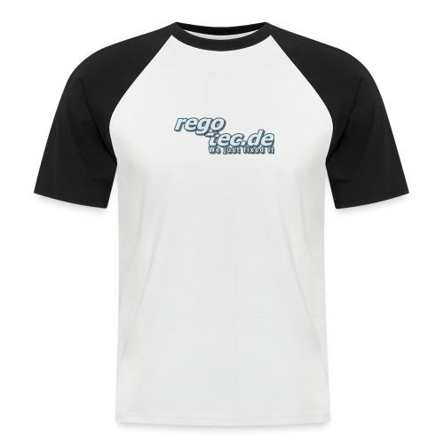 rego tec de Logo - Männer Baseball-T-Shirt