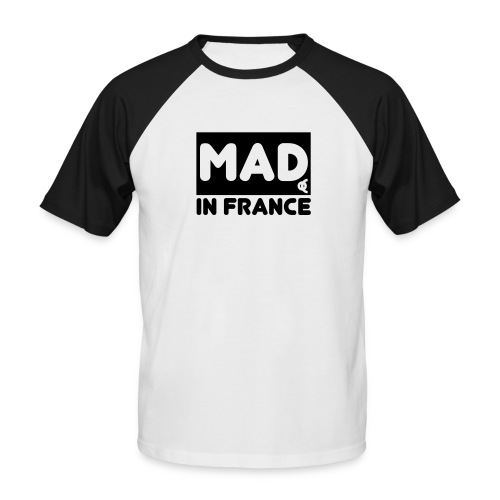 mad in france - T-shirt baseball manches courtes Homme